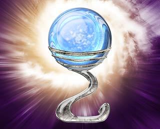 Videncia directa bola de cristal