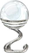 Bola de cristal logo light